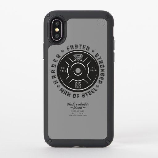 Man Of Steel   Unbreakable Dad Speck iPhone X Case