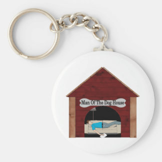 Man Of The Dog House Key Chains