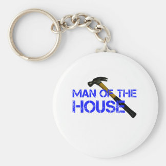 Man of the house keychain
