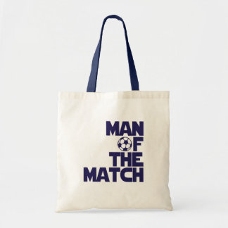 man of the match canvas bag