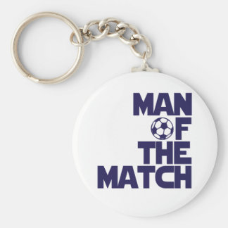 man of the match keychain