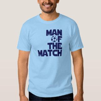 man of the match tee shirt