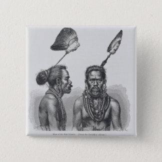 Man of the Ruk Islands Button