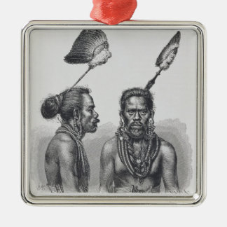 Man of the Ruk Islands Christmas Tree Ornaments