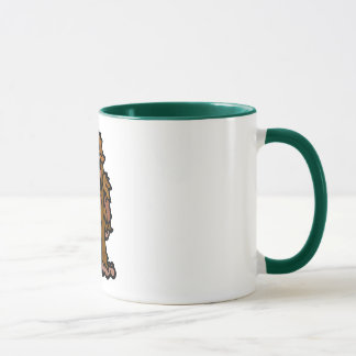 man of the wood mug. mug