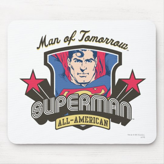 Man of Tomorrow Mouse Pad