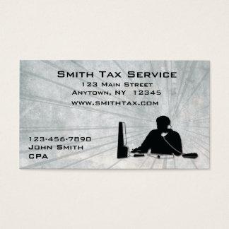 Man Office Business Card