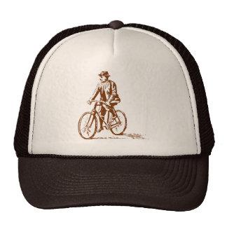 Man on a Bike - Walnut Trucker Hat