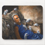 Man on couch with Rats Mousepad