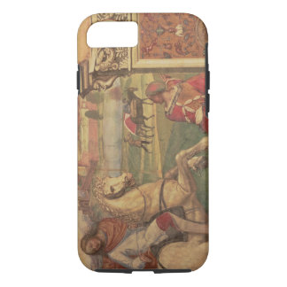 Man on Horseback, from the Life of St. Benedict (f iPhone 8/7 Case