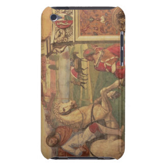 Man on Horseback, from the Life of St. Benedict (f iPod Touch Cases