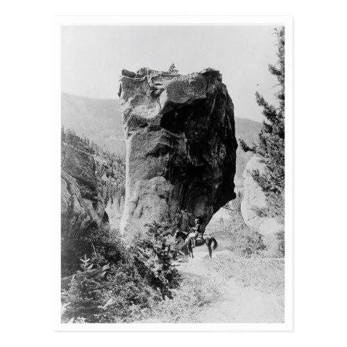 Man On Horseback Postcard
