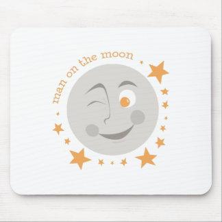 Man On Moon Mousepad