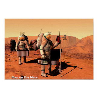 Man on the Mars Poster