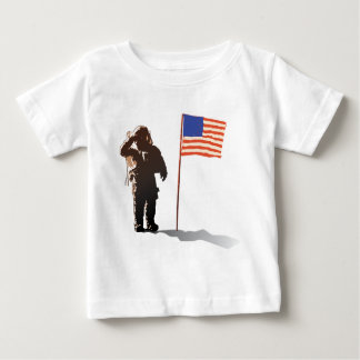 Man on the moon - Astronaut Baby T-Shirt