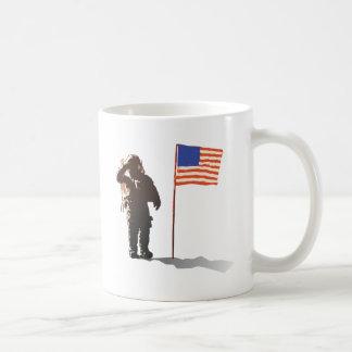 Man on the moon - Astronaut Mugs