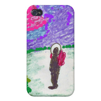 Man on the Moon , ipod case iPhone 4 Case