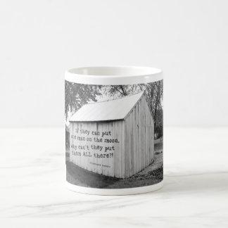 Man on the moon coffee mugs