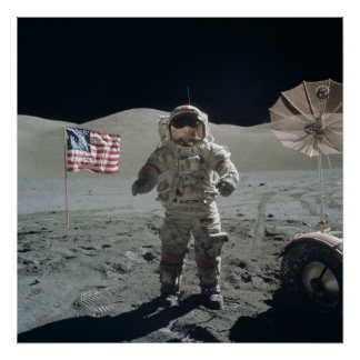 Man on the Moon Poster