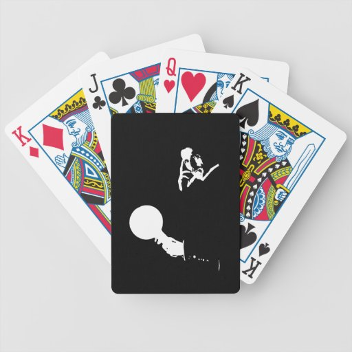 Man Out of Time Playing Cards