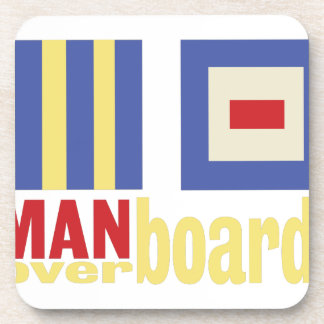 Man Over Board Coaster