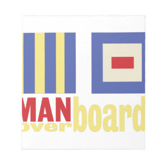 Man Over Board Notepad