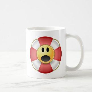 Man Overboard! Classic White Coffee Mug