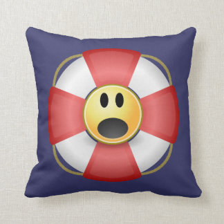 Man Overboard! Throw Pillow