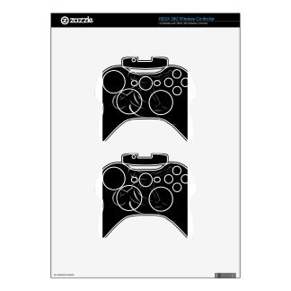 Man performing stunt on motorbike xbox 360 controller decal