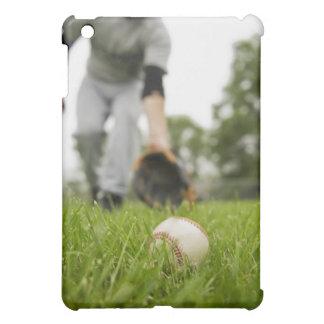 Man playing baseball case for the iPad mini