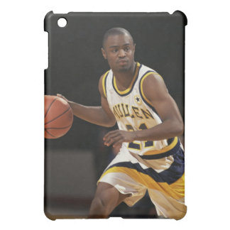 Man playing basketball 2 iPad mini case