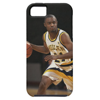 Man playing basketball 2 iPhone 5 case