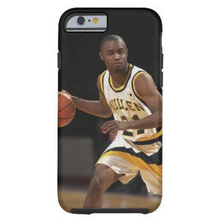Man playing basketball 2 tough iPhone 6 case