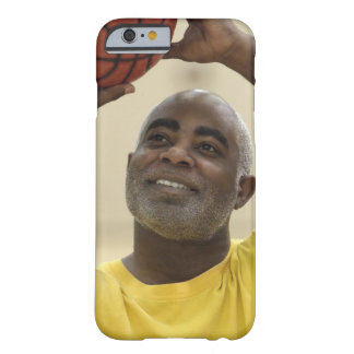 Man playing basketball 4 barely there iPhone 6 case