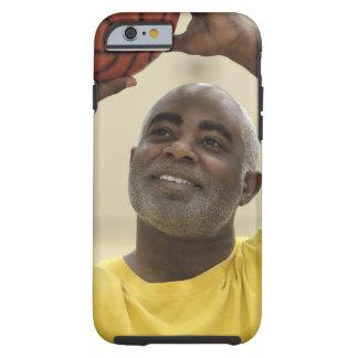 Man playing basketball 4 tough iPhone 6 case