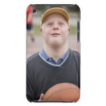 Man playing basketball iPod touch case
