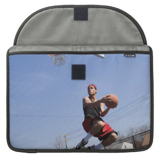 Man Playing Basketball Sleeves For MacBooks