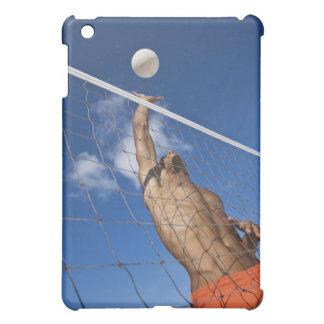 Man playing beach volleyball iPad mini cases