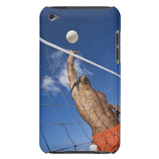 Man playing beach volleyball iPod touch Case-Mate case