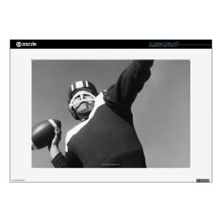 "Man Playing Football 2 Decal For 15"" Laptop"