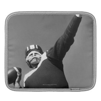 Man Playing Football 2 Sleeve For iPads