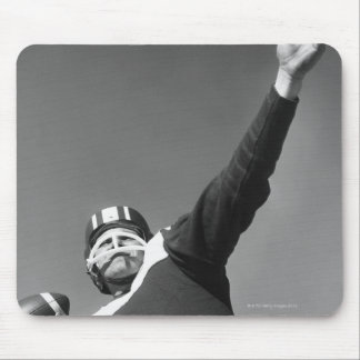Man Playing Football 2 Mouse Pad