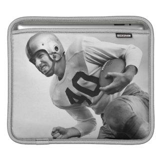 Man Playing Football 3 iPad Sleeve