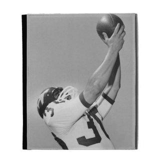 Man Playing Football iPad Folio Cover