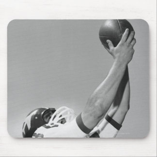 Man Playing Football Mouse Pad