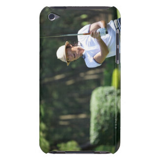 Man playing golf, Miyazaki Prefecture, Kyushu, iPod Touch Case