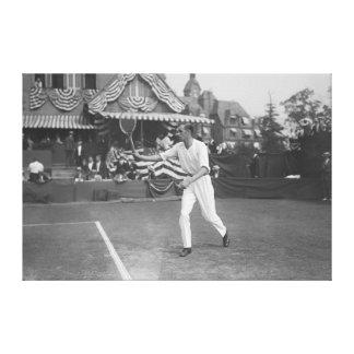 Man Playing Tennis in Washington DC Tournament Canvas Print