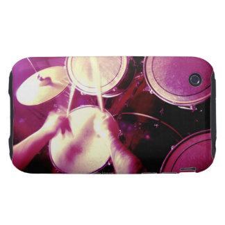 Man playing the drums tough iPhone 3 covers