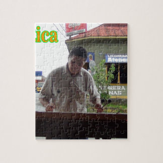 Man playing xylophone Costa Rica Jigsaw Puzzles