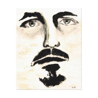 Man Portrait Large Canvas Print for Men Home Decor